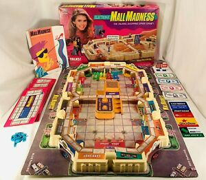 1989 Mall Madness Game Milton Bradley Complete Working in Great Cond FREE SHIP