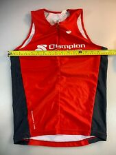 Champion System Mens Performance Link Long Tri Triathlon Top Small S (6545-4)