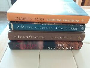lot of 4 Inspector Ian Rutledge books by Charles Todd