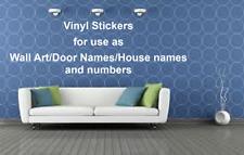 Custom Personalised Name/Word Cut-Vinyl Decal 8 Fonts Sticker