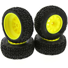 Kyosho 1/10 Ultima SC6 2WD ReadySet * BLOCK TREAD TIRES & HI-VIS YELLOW WHEELS *