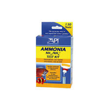 Ammonia Aquarium Test Strips - NH3/NH4  kit-130 tests- fresh/salt water-pond