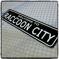 "Resident Evil: Welcome to Raccoon City  6""x24"" Aluminum Sign"