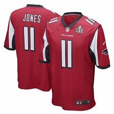 Men s JULIO JONES Atlanta Falcons Red SUPER BOWL LI Nike Authentic Jersey  Small 1934191f5