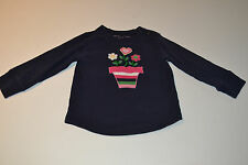 PRE-OWNED INFANT  GIRLS BABY GAP SHIRT SIZE 18-24 MTHS