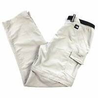 The North Face Women's Khaki Convertible Zip Off Hiking Pants Size Medium