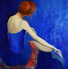 "oil painting ""Ballet"", Justyna Kopania 70cm x 70cm"