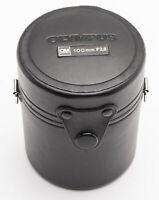 Olympus Objektivköcher Köcher für OM-System E.Zuiko Auto-T 1:2.8 100mm lens case