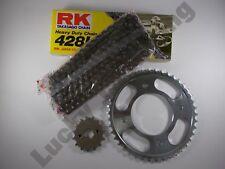 Blue RK Chain and JT Sprocket Kit Suzuki En125 - 2a 03-17 Heavy Duty Standard T