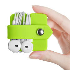 Earphone Headset Cable Winder Holder Phone Charging Wire Cord Organizer Mystic