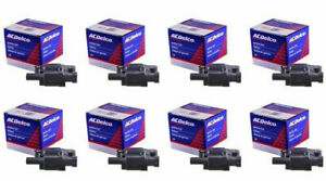 SET (8) NEW GENUINE ACDelco Camaro Yukon Tahoe Ignition Coil D510C BSC1511