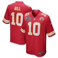 New Nike Tyreek Hill #10 Kansas City Chiefs Super Bowl LIV Champions Game Jersey