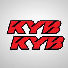 KYB front fork STICKER-SET