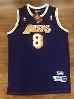 Kobe Bryant #8 Purple LA  Lakers Swingman Jersey Size XL - XXL - NWT Size 50