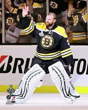 TIM THOMAS 2011 Boston Bruins STANLEY CUP LICENSED picture 8x10 photo