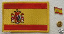Spain National Flag Pin and Patch Embroidery