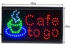 Leucht- & - Neonreklame mit LED-Schrift Laden-Objekt