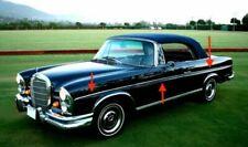 NEU 6 x Mercedes-Benz W111 W112 Coupe Cabrio Zierstab Zierleisten Side Moldings