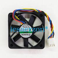 SUNON MF50101V1-Q030-S99 cooling fan DC12V 1.5W 50*50*10mm 4pin PWM