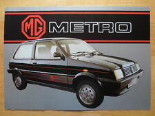 MG METRO orig 1983 French Mkt Sales Brochure Depliant - Austin interest