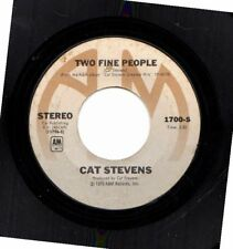 CAT STEVENS TWO FINE PEOPLE/BAD PENNY USED 45RPM VINYL