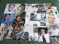 PAUL NEWMAN - FILM STAR - CLIPPINGS /CUTTING PACK