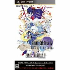 Used PSP Final Fantasy IV Complete Collection  SONY PLAYSTATION JAPAN IMPORT