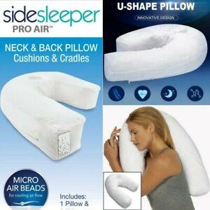 High-Plus Side Sleeper Pillow Sleep Buddy Waist U Shap newest High Quality 2021