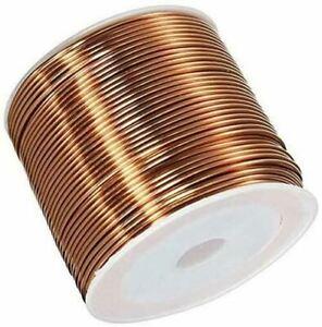 2-100 Meter Copper Wire Ø 0.7-2mm Cu 99.9% Paint Wire W-Nr 2.0090 Craft