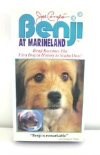 BENJI at Marineland (VHS, 1991) Video Movie Dog, Family Dolphins