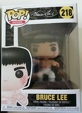 Funko POP ! Movie Bruce LEE white pants Enter the dragon 218 - IN STOCK