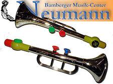 Trompete Kazoo Gold Entertainer Kinder Spielzeug Trumpet Metallisiert