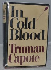1965 IN COLD BLOOD Truman Capote 6th Printing First State Dustjacket