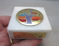 30th 3M National Electrical Exposition marble paperweight. New Orleans