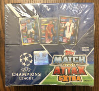 NWB 2019-20 Topps UEFA Champions League Soccer Match Attax EXTRA. 30 Pack Box!!