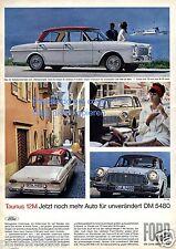 FORD TAUNUS 12 M XL la pubblicità di 1964 pubblicità ad (D)