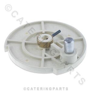 ITV 5202 PAN TILTING DISC LIFT WHEEL QUASAR ICE MACHINE 92mm DIAMETER 15mm SHAFT