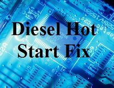 Hot Diesel Start Starting Fix VW Volkswagen Passat 1.9 TDI 2.0 TDI