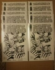 Image Comics Walking Dead 112 Image Expo Black And White Variant - 10 COPIES