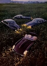 1965 Jaguar XK-E Coupe and Roadster - 4.2 Sedan -  3.8 'S' Sedan  PRINT AD