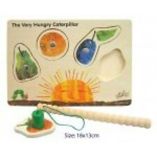NEW Magnetic Wooden Caterpillar Puzzle