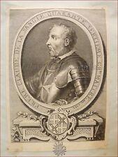 CAVALIERI di MALTA Gran Maestro CLAUDE DE LA SANGLE 1726 da Vertot Cars Raro