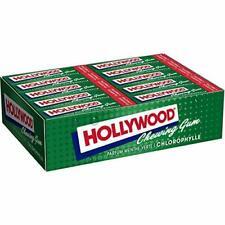 Hollywood Chewing Gum Classic - Parfum Chlorophylle - Arômes Naturels - Lot de 2