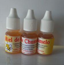 Miel de chumelo chumelito gotas para ojos 3 botellas 10 ml hierbas mexicanas