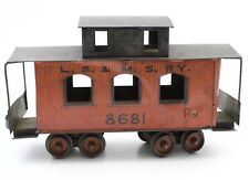 Carlisle & Finch LS&MSRY 8681 #46 Caboose Wood and Tin Antique Train Car
