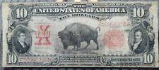 1901 U.S $10 Bison Note