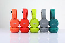 NIA X2 Collapsible Bluetooth Headset with FM Radio and TF AUX Slot