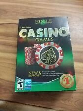 Hoyle Casino Games 2010 (Windows/Mac, 2009) complete with book