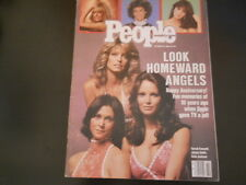 Charlie's Angels, Farrah Fawcett, Jaclyn Smith - People Magazine 1986