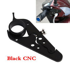 Universal Scooter Motorcycle Cruise Control Black CNC Throttle Lock Assist